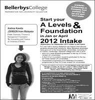 تحصیل A Levelدر Bellerbys (بلربیز) انگلستان