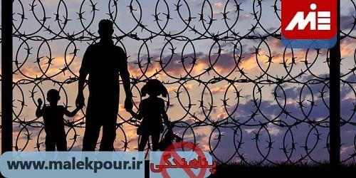 پناهندگی در انگلیس و آمریکا و خطرات آن ها