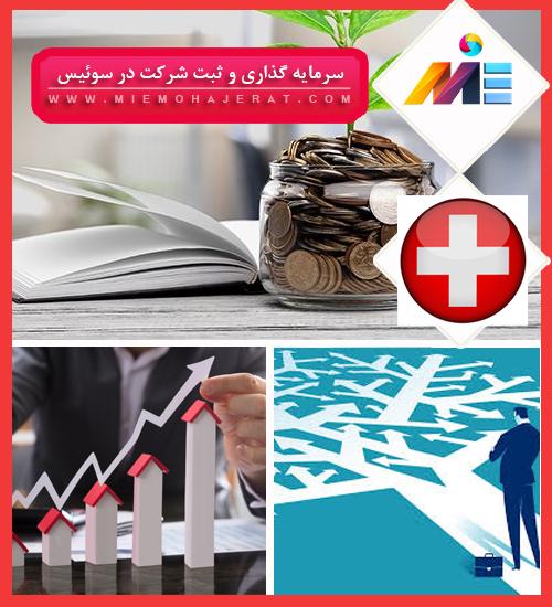 سرمایه گذاری و ثبت شرکت در سوئیس