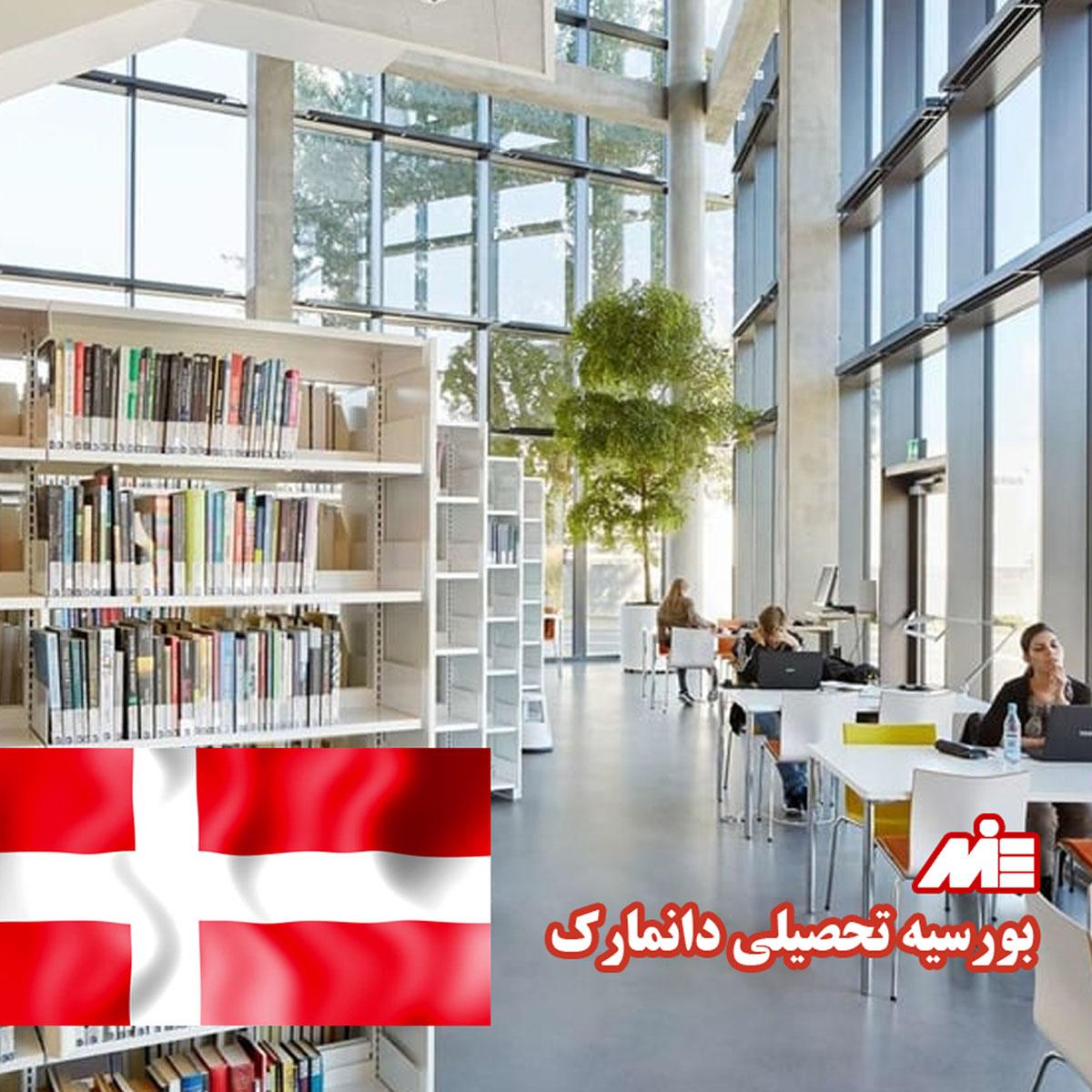 بورسیه تحصیلی دانمارک