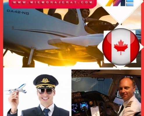 خلبانی در کانادا