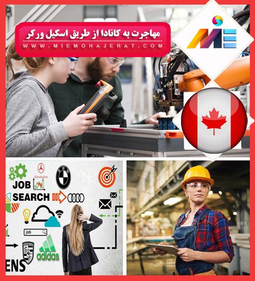 مهاجرت به کانادا از طریق اسکیل ورکر