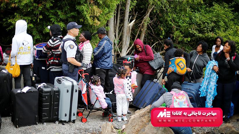 مهاجرت قاچاقی به کانادا