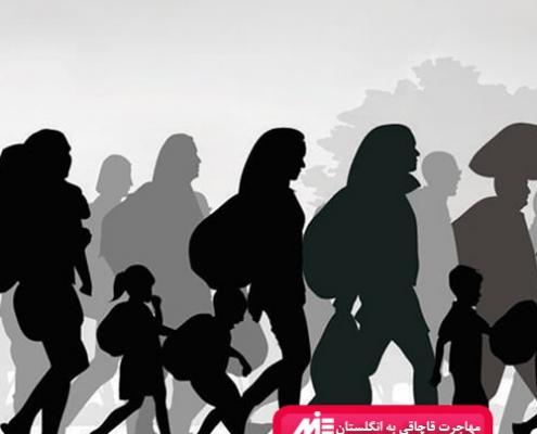 مهاجرت قاچاقی به انگلستان