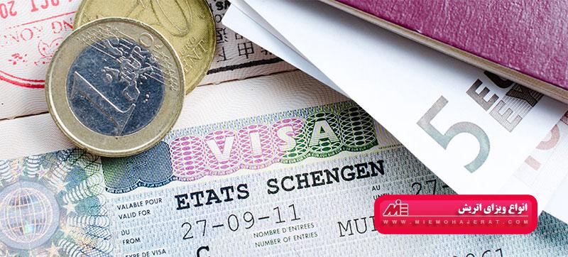 انواع ویزای اتریش