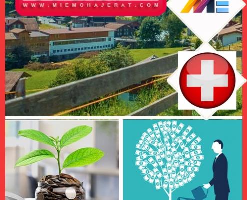 اقامت سوئیس از طریق تمکن مالی